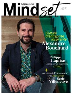 alexandre bouchard magazine mindset entrepreneur