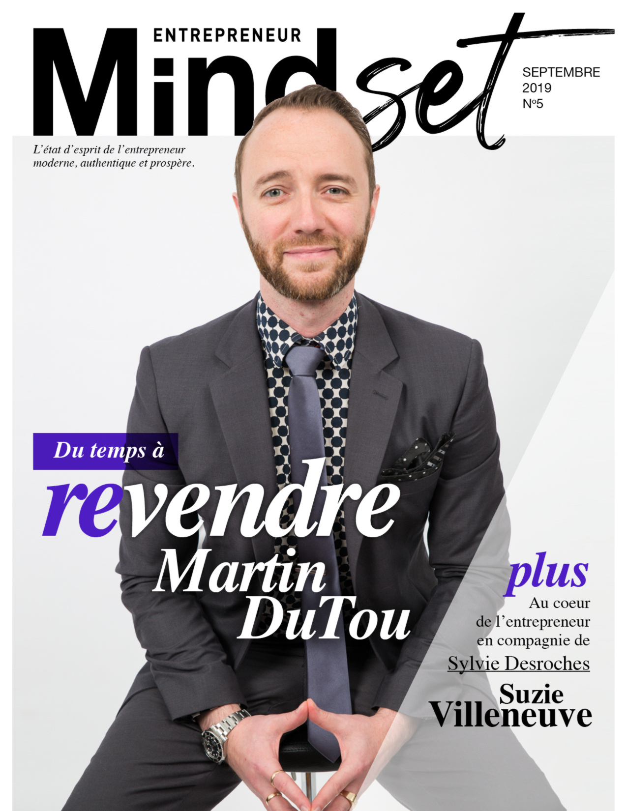 Martin DuTou Mindset entrepreneur magazine