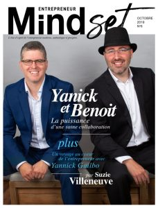 Magazine Mindset entrepreneur octobre 2019