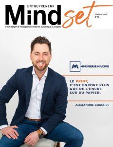 Alexandre Boucher Mindset Entrepreneur mag